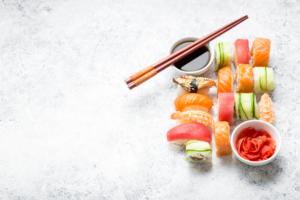 Various Types of Sushi