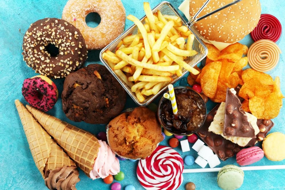 Unhealthy Fatty Food